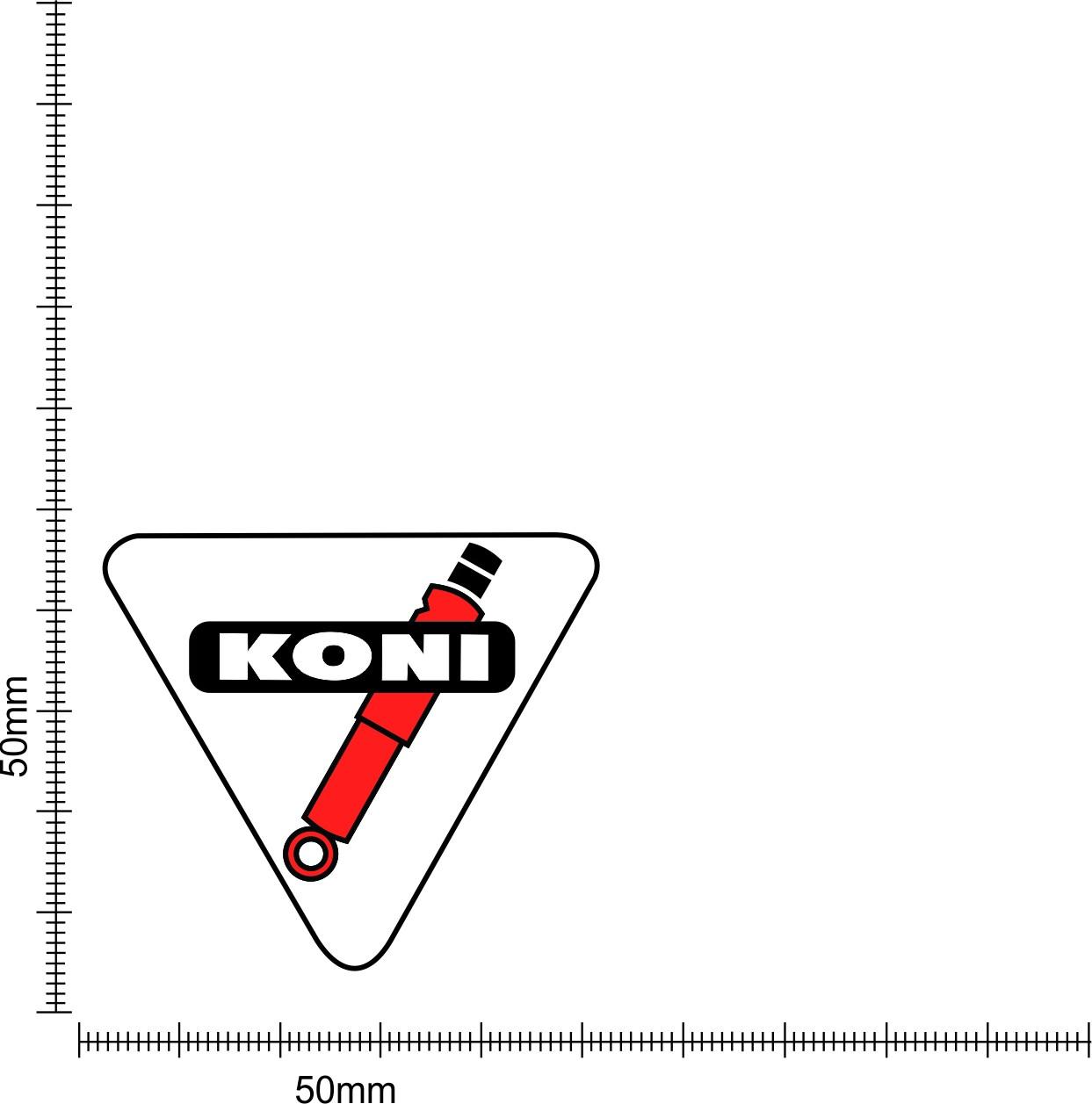 Koni Toolbox Sticker